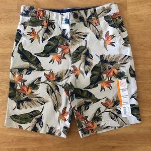 NWT Wonder Nation Boys 7 Leaf Shorts